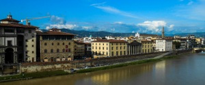 Looking over Florence, Italy.